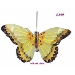 0899 Motýl sklipsem