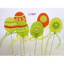 1987 Vajíčko zápich