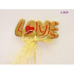 2829 LOVE zápich