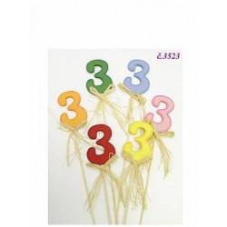 3523 Číslo zápich