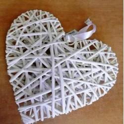 3705 Srdce proutí 20cm