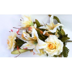 3741 Kytice růže s lilií