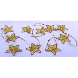 3275 Hvězda drátěná girlanda