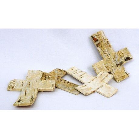 4164 Kříž bříza 8x6 cm,box /24 ks