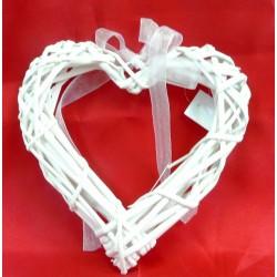 4198 Srdce proutí otevřené 15 cm