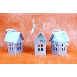 4391 Silver house, box/3ks