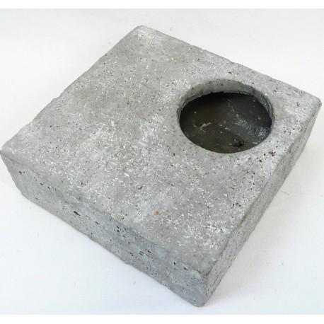 4913 Čtverec beton 19x19cm
