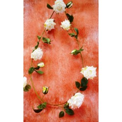5116 Růže girlanda 150cm