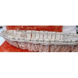 2336  Loďka z kůry 55x15x10cm